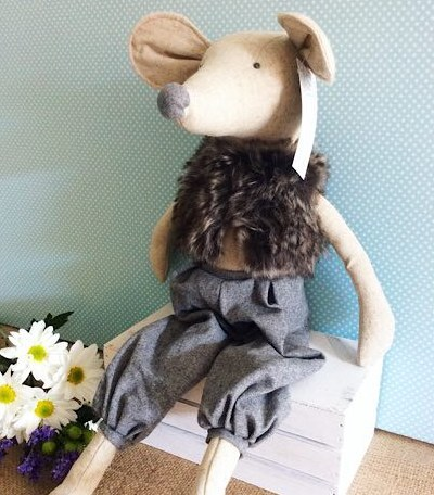 Moshie Mouse - Nana Huchy Soft Toy - A Touch of Class Florist
