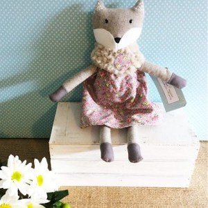 Miss Francesca Fox - Nana Huchy Soft Toy - A Touch of Class Florist
