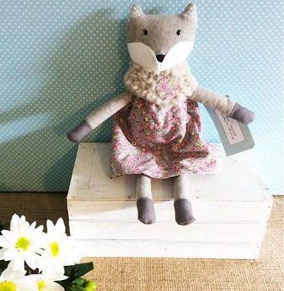 Miss Francesca Fox - Nana Huchy Soft Toy - A Touch of Class Florist