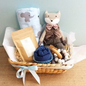 Baby Bliss Hamper in Blues - A Touch of Class Florist