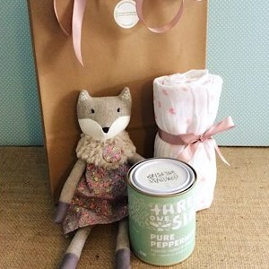 Baby Joy Hamper in Pink - A Touch of Class Florist