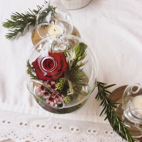 Christmas Table Centrepieces - A Touch of Class Florist