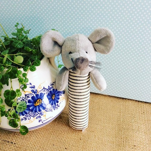 Mouse Baby Rattle - Nana Huchy - A Touch of Class Florist