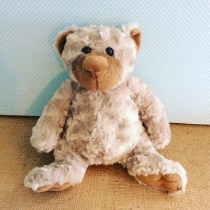 Puddles The Bear - soft grey bear - A Touch of Class florist
