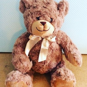 Monty The Bear - soft, taupe brown bear -A Touch of Class Florist