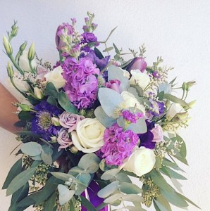 Hand-tied Bouquet is a bouquet of seasonal blooms in a mix of - A Touch of Class Florist Perth