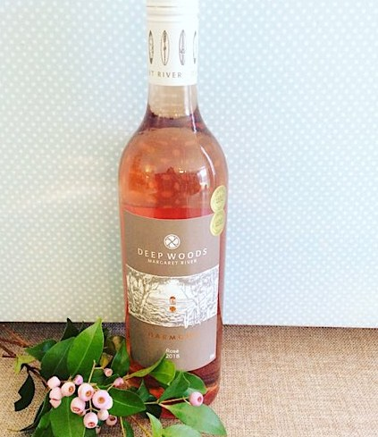 Assorted Western Australian Rose Wine. A Bottle of where available Westerna Australian Rose wine - A Touch of class Florist Perth