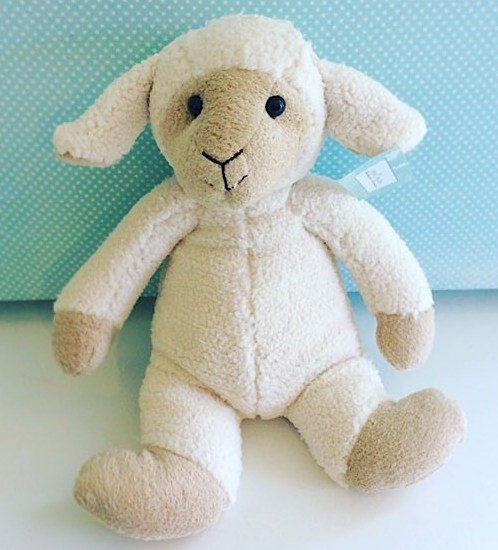 Sophie Sheep by Nana Huchy is a soft and adorable toy approximately 35cm head to toe - A Touch of Class Florist Perth