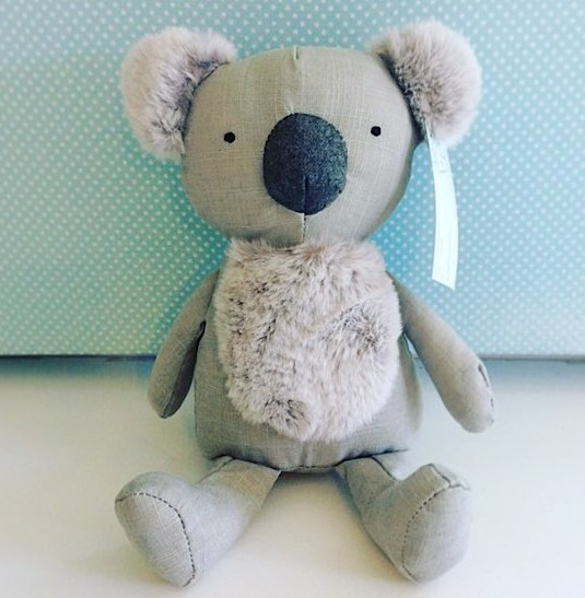 Keith Koala by Nana Huchy, is an adorable soft toy for any little one, approximately 33cm head to toe - A Touch of Class florist Perth