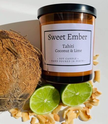 Sweet Ember Scented Soy Candles Image