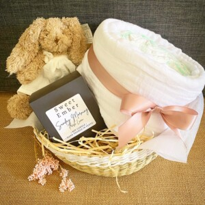 Calm Change Baby Hamper in Pink